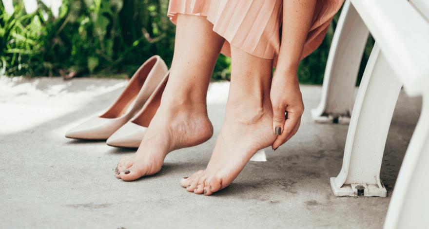 evitar rozaduras de zapatos